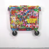 Garbage:2012:MixedMediaOnContainer:126x117x18,5cm