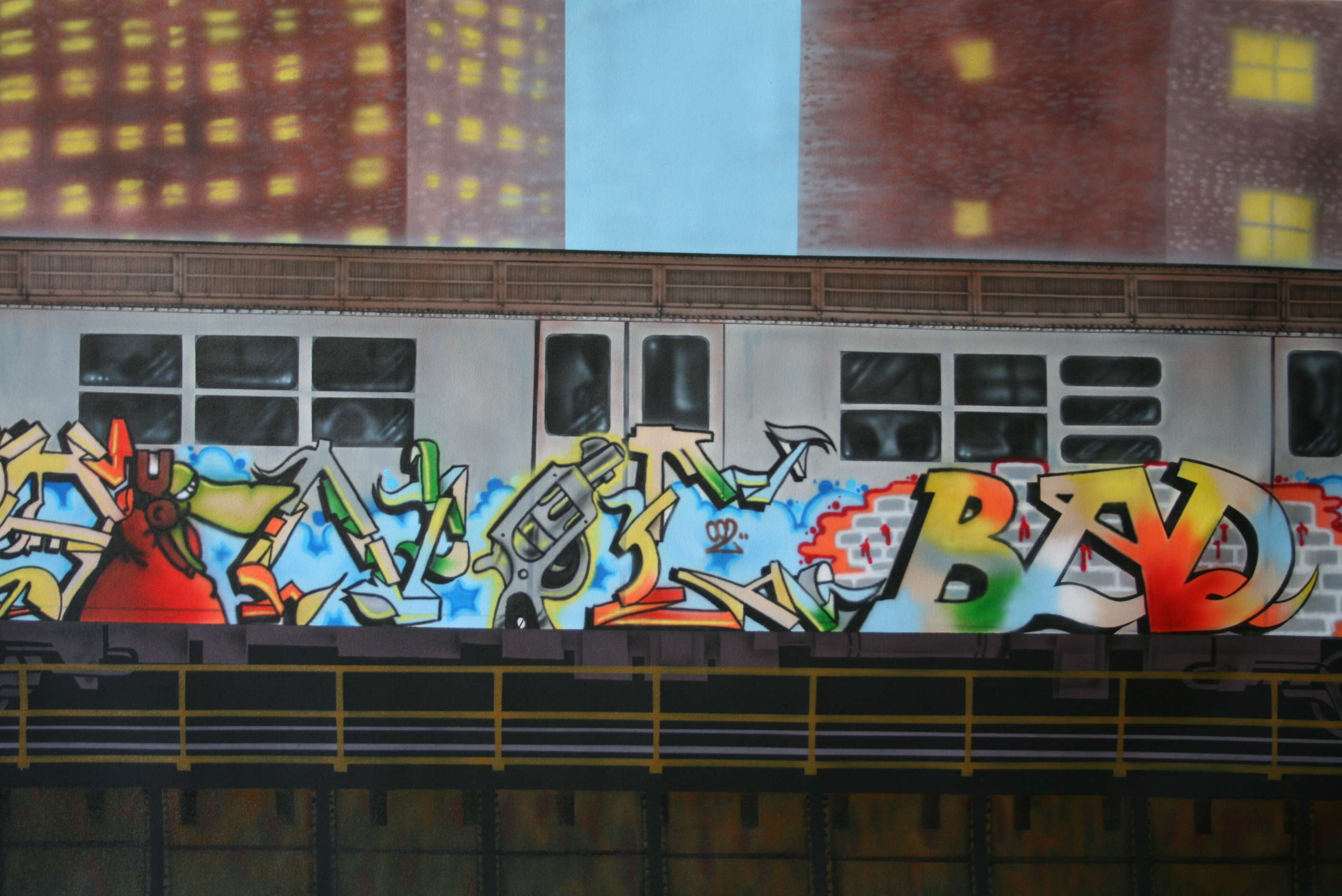 Sonic - Subway Art - 2011